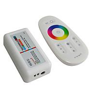 jiawen 2.4g rgb led controller touchscreen led-lichtstrip controlesysteem (dc 12-24v)