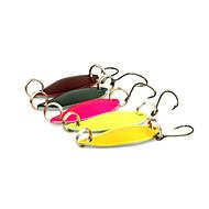 """5 個 ルアー スプーン 多色 グラム/オンス,30 mm/1-1/4"""" インチ,メタル 海釣り スピニング ジギング 川釣り バス釣り ルアー釣り 一般的な釣り"""