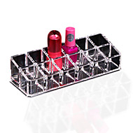 1pcs אחסון קוסמטי שפתון איפור דוכן בעל 12 תצוגה ברורה