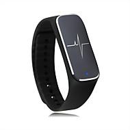 tanie Inteligentne zegarki-Inteligentne Bransoletka Kamera/aparat Odbieranie bez użycia rąk Bluetooth 4.0 iOS Android Nie Slot karty SIM