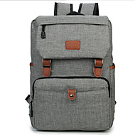 Men Bags Canvas Laptop Bag Buttons for Casual Outdoor Summer Black Gray Blue