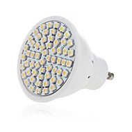 billige Spotlys med LED-1pc 5 W 350 lm GU10 / GU5.3 LED-spotpærer 60 LED perler SMD 2835 Dekorativ Varm hvit / Kjølig hvit 220-240 V / RoHs