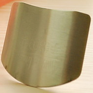 doigt de cuisine en acier inoxydable de garde protège-mains 6.5x4.5x2cm