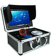 Localizadores de Peixe 15.6*8.8 polegada LCD 30 m Impermeável LED Sem Fios 18650 Pesca de Mar Pesca no Gelo Pesca de Isco e Barco