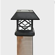 PAC pós solar de cerca convés luz branca montagem ao ar livre lâmpada cerca do jardim