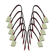 billige belysning Tilbehør-10pcs Høy kvalitet Dekorasjon Elektrisk kontakt Elektrisk kabel