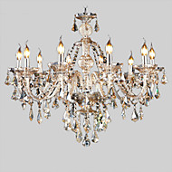 cheap Chandeliers-Globe Island Lantern Country Traditional/Classic Retro Modern/Contemporary Crystal Chandelier Uplight For Living Room Bedroom Kitchen