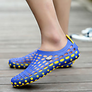 baratos Sapatos Masculinos-Homens Neoprene Primavera / Verão Conforto / Buraco Shoes Sandálias Caminhada Antiderrapante Preto / Vermelho / Khaki / Azul Real