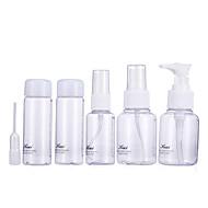 billiga Sminktillbehör-Kosmetikflaskor Smink 6 pcs Plast Övrigt Dagligen Övrigt Kosmetisk Skötselprodukter