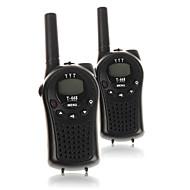 T668446 Walkie-talkie 0.5W 22 Channels 400-470 mHz AA alkaline battery 3-5 kmVOX / bakgrunnsbelysning / Kryptering / Programmeringskabel