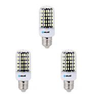 billige Kornpærer med LED-BRELONG® 3pcs 7W 650lm E14 E26 / E27 B22 LED-kornpærer B 108 LED perler SMD 5733 Dekorativ Varm hvit Kjølig hvit 200-240V 220-240V