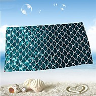 cheap Towels & Robes-Fresh Style Beach Towel, Reactive Print Superior Quality 100% Micro Fiber Towel Towel