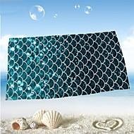 Frisk stil Strandhåndkle,Reaktivt Trykk Overlegen kvalitet 100% Mikro Fiber Håndkle