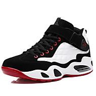 Muškarci Cipele PU Proljeće Jesen Udobne cipele Sneakers Trčanje Vezanje za Kauzalni Crn Crvena