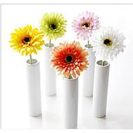 billige Kunstige blomster-1 Gren Silke Kurvplante Bordblomst Kunstige blomster