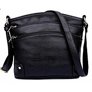 Women Bags Cowhide Shoulder Bag for Casual Black Brown Blue Khaki