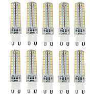 HKV® 4.5W G9 LED Bi-pin Lights 72 SMD 2835 350-450 lm Warm White Cold White Natural White Dimmable AC110/220V 10pcs