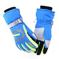 cheap Ski Gloves-Ski Gloves Bike Gloves / Cycling Gloves Men's Women's Keep Warm Waterproof Windproof Canvas Ski / Snowboard
