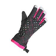 ieftine Mănuși-Mănuși Ski Mănuși pentru ciclism Pentru femei Keep Warm Rezistent la Vânt pânză Schiat