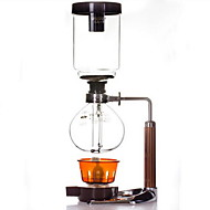 pot sifão de vidro 5 doses cafeteira mão de café
