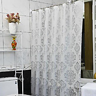 cheap Shower Curtains-Vogue Thicken Waterproof Colorful Flower Bathroom Shower Curtain PEVA Bath