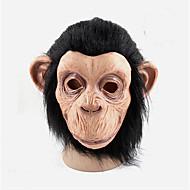 cosplay homens mulheres látex máscaras de macaco de borracha bola festa cheia rosto máscara gras máscara de látex bola traje de Halloween