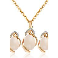 Dámské Svatební šperky Soupravy Módní Svatební Párty Küpeler Náhrdelníky