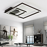 cheap Ceiling Lights-Linear Flush Mount Ambient Light - Dimmable, LED, 90-240V, Warm White / White, LED Light Source Included / 20-30㎡ / LED Integrated