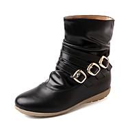 Dames Sneakers Lente Herfst Winter Cowboy/Westernlaarzen Snowboots Paardrijlaarzen Modieuze laarzen Synthetisch Lakleer KunstleerHuwelijk