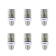 お買い得  LED電球-BRELONG® 6本 7W 450lm E14 / E26 / E27 / B22 LEDコーン型電球 B 108 LEDビーズ SMD 5733 装飾用 温白色 / クールホワイト 200-240V / 220-240V