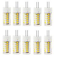 baratos Luzes LED de Dois Pinos-2,5 W G4 Luminárias de LED  Duplo-Pin T 33 leds SMD 2835 Impermeável Decorativa Branco Quente Branco Frio 250-300lm 3000/6000K AC 220-240