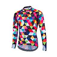 fastcute Biciklistička majica Muškarci Dugi rukav Bicikl Sportska majica Biciklistička majica MajiceUgrijati Quick dry Prednji Zipper