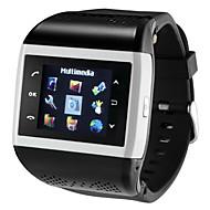 tanie Inteligentne zegarki-Inteligentny zegarek na Android Długi czas czuwania / Odbieranie bez użycia rąk / Radio FM / Ekran dotykowy / Wideo Stoper / Powiadamianie o połączeniu telefonicznym / Kalendarz / 512 MB