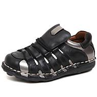 baratos Sapatos Masculinos-Homens Pele Napa Primavera / Verão / Outono Conforto Mocassins e Slip-Ons Preto