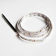 Χαμηλού Κόστους Φώτα LED-ZDM® 1pc Ψυχρό Λευκό DC Powered Μπορεί να κοπεί / Κατάλληλο για Οχήματα / Εύκολη μεταφορά 12V Φωτιστικό Λωρίδα