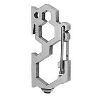 Spenne / Multitools Utendørs / Innendørs / Sykling / Tur / Camping / Reise Multifunksjon / Holdbar Stainless Steel sølv