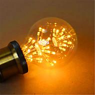 E26/E27 LED-globepærer G80 49 leds Dyp Led Dekorativ Gul 800lm 2300K AC 220-240V