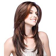 Jomfruhår Helblonde / Blonde Front Paryk Brasiliansk hår Lige Paryk Frisure i lag 130% / 150% Mellem del sy i / Afro-amerikansk paryk / limfri Dame Kort / Medium / Lang Blondeparykker af menneskehår