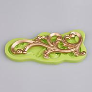 Üzüm şekli kalıp dantel fondan mat silikon kek kalıp stampi 3d silikon kek mutfak aksesuarları renk rastgele