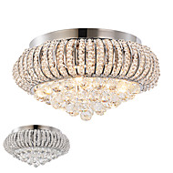 50 Flush Mount   Modern/Contemporary Chrome Feature for Crystal Metal Living Room / Bedroom / Dining Room