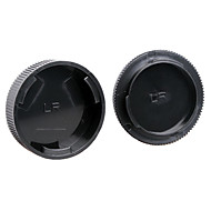 dengpin bakre linsedeksel + kamerahuset cap for Leica R3 R4 R5 R6 R7 R8 R9