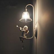 baratos Arandelas de Parede-Moderno / Contemporâneo Luminárias de parede Metal Luz de parede 110-120V / 220-240V 5w