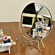 卓上鏡 現代風 シルバー,高品質 ミラー