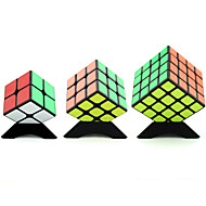 Rubiks terning YongJun 4*4*4 3*3*3 2*2 Let Glidende Speedcube Magiske terninger Puslespil Terning Professionelt niveau Hastighed Kvadrat