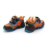 tanie Obuwie chłopięce-Dla chłopców Buty PU Wiosna Jesień Tenisówki Tenis na Atletyczny Orange Niebieski Light Blue