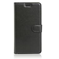 billiga Mobil cases & Skärmskydd-fodral Till OPPO R7s OPPO OPPO R9 Plus OPPO R9 Korthållare Plånbok med stativ Lucka Fodral Ensfärgat Hårt PU läder för OPPO R9 Plus OPPO