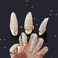 3 pcs Gioielli per unghie manicure Manicure pedicure Quotidiano Glitters / Di tendenza