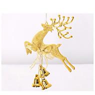 20 cm sinos de Santa alces natal pendurar decorações de natal decorações de Natal da janela do Natal decoração do partido adereços