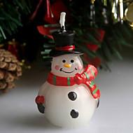Natal, cicatriz, boneco de neve, vela natal, vela, 5cm, colheres, feriado, enfeites