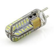 baratos Luzes LED de Dois Pinos-1 pc 3 w gy6.35 levou 12 v ac / dc silicone barco lâmpada 48 smd 3014 morno branco frio